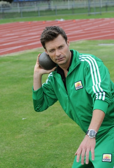 Ryan Seacrest at Lauer, Seacrest, Vieira Go For OLYMPIC Gold