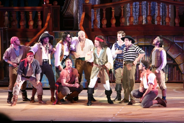 Photo Flash: First Look at Ed Dixon, Hunter Foster and More in PIRATES! at the Muny