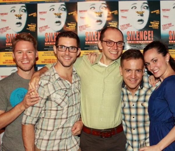 Randy Harrison, Nick McGough, Topher Nucio and Ashlee Dupre Photo