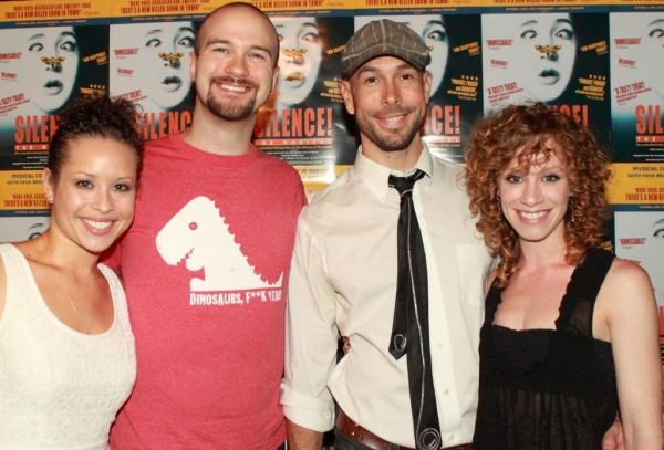 TRIASSIC PARQ stars Shelley Thomas, Lee Seymour, Wade McCollum, Lindsay Nicole Chambers at SILENCE! THE MUSICAL Celebrates Opening of Elektra Theatre