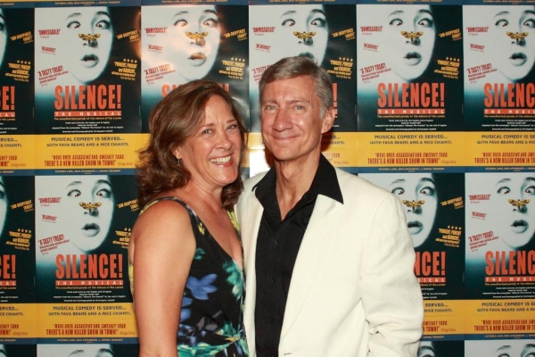 Karen Ziemba and David Garrison at SILENCE! THE MUSICAL Celebrates Opening of Elektra Theatre