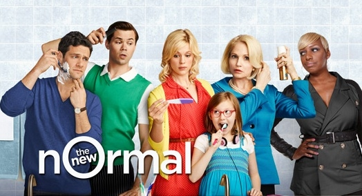 Photo Flash: First Look - Rannells, Barkin in THE NEW NORMAL