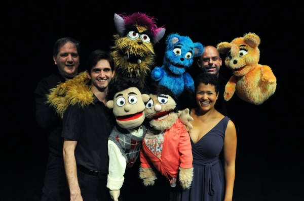 Don Knoblauch, Trekkie Monster, Bad Idea Bear, Stewart Bender and Bad Idea Bear; Cody Shope, Princeton, Kate Monster and Carmen Keels