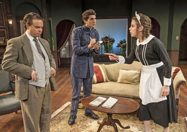 Photo Flash: First Look at Agatha Christie's THE HOLLOW, Opening Tonight