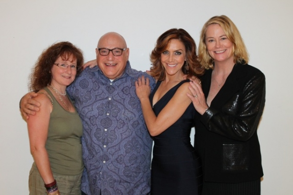 Shelley Bruce, Henry Kreiger, Andrea McArdle, Cybill Shepherd at Bette Midler, Nathan Lane, and More Visit 54 Below!