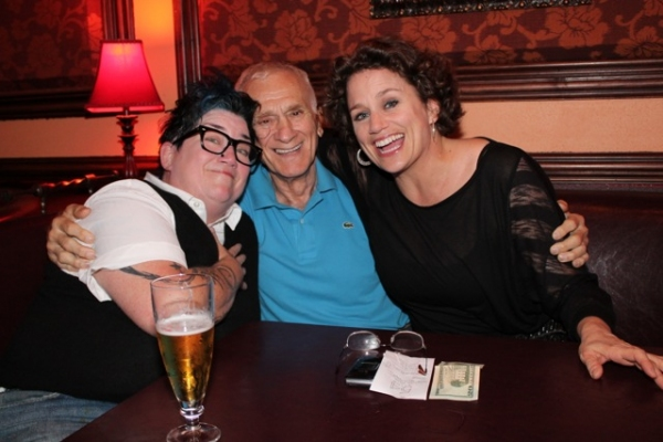Lea Delaria, Dick Latessa, Cady Huffman at Bette Midler, Nathan Lane, and More Visit 54 Below!