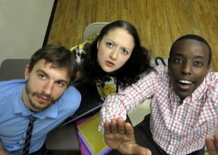 Scott Thomas, Alexandra Hellquist, Matthew Murumba Photo