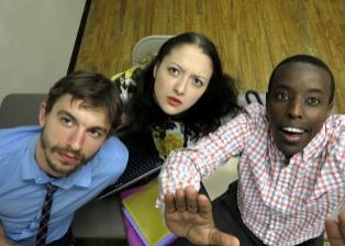 Scott Thomas, Alexandra Hellquist, Matthew Murumba