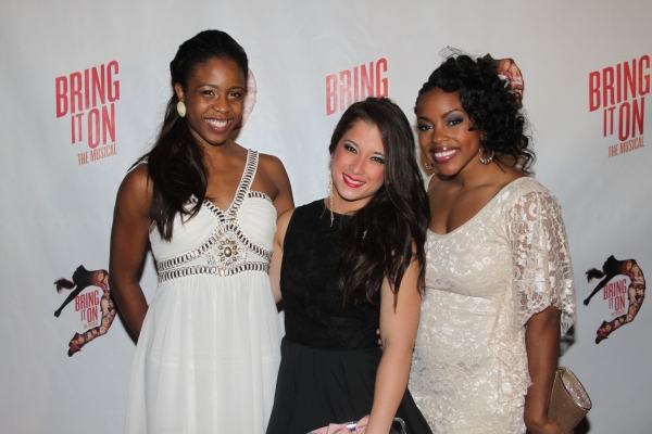 Shonica Gooden, Lauren Whitt and Melody Mills  at The Cast of BRING IT ON Celebrates at the Opening Night Party!