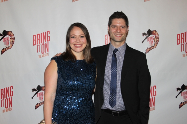 Photo Coverage: The Cast of BRING IT ON Celebrates at the Opening Night Party!