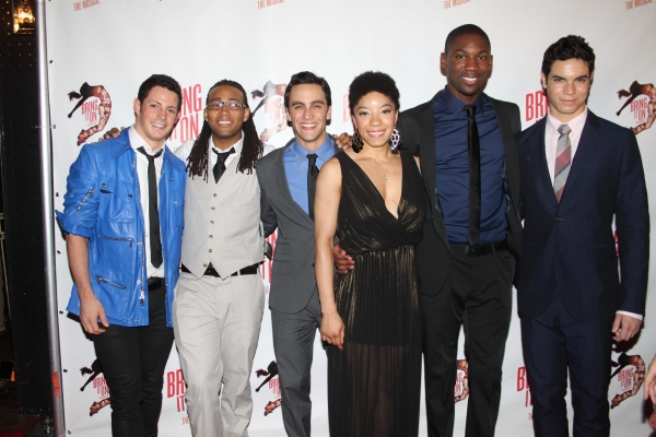 Sheldon Tucker, Antwan Bethca, Michael Mindlin, Adrianna Parson, Dominique Johnson and Jason Gotay