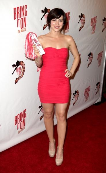 Krysta Rodriguez at BRING IT ON Opening Night Red Carpet Stars!