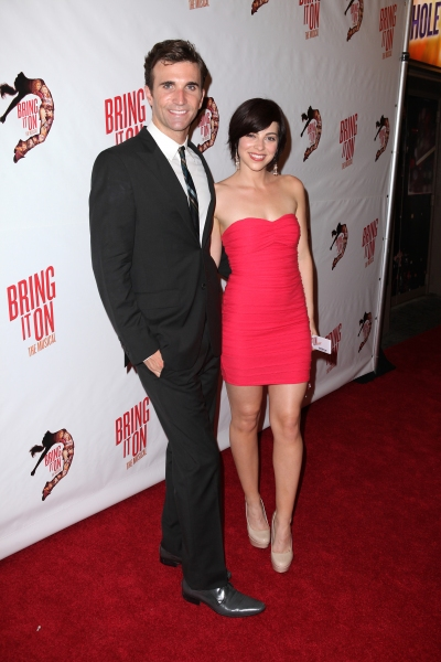 Charlie Sutton & Krysta Rodriguez at BRING IT ON Opening Night Red Carpet Stars!