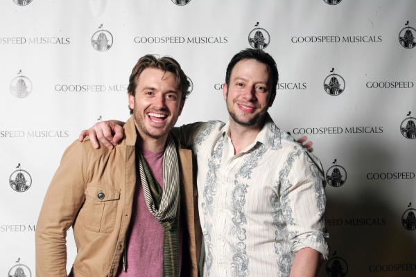 James Snyder and Tally Sessions at Highlights of Goodspeed's CAROUSEL Opening Night Cast Party