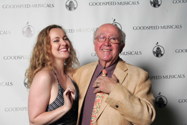Jennifer Evans and Ronn Carroll at Highlights of Goodspeed's CAROUSEL Opening Night Cast Party