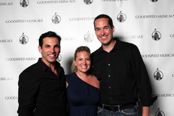 Michael Scirrotto, Jessica Hartman and Parker Esse