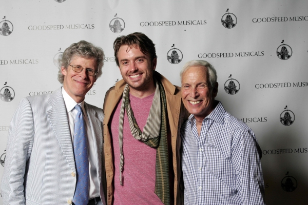 Ted Chapin, James Snyder and Michael Price at Highlights of Goodspeed's CAROUSEL Opening Night Cast Party