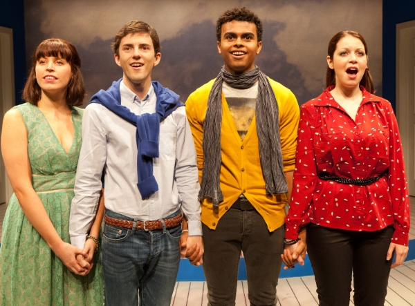 Photo Flash: First Look at York Theatre Company's SONGS FOR A NEW WORLD- Opens Tonight!
