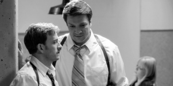 Nathan Fillion as Dogberry with Tom Lenk as Verges