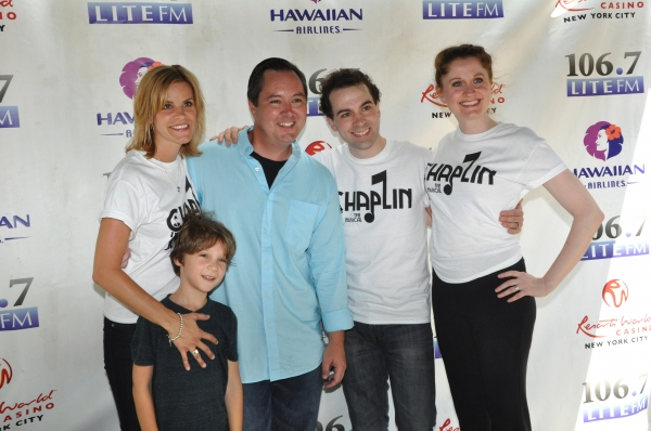 Photo Coverage: MAMMA MIA!, CHAPLIN, and More at Broadway In Bryant Park!