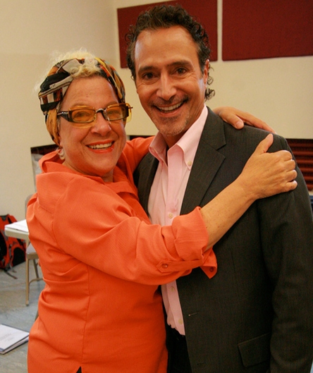 Camille Saviola and Tony Spinosa (Veils) Photo