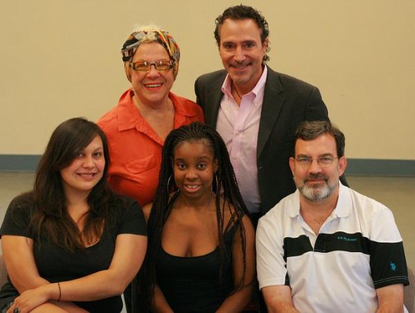 Camille Saviola, Tony Spinosa, Liz Malarkey, Shyko Amos and Tom Coash (Veils) Photo