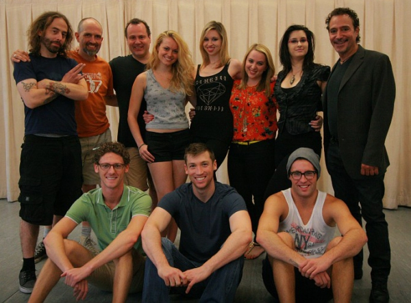 Billy Butler, Dane Leeman, Dan Cooney, Ashley Kate Adams, Maggie Politi, Megan Kane,  Photo