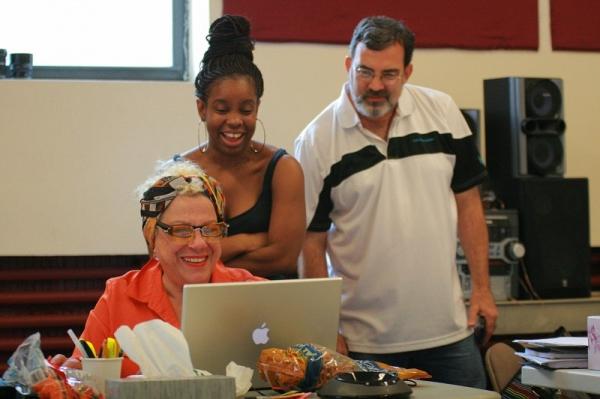 Camille Saviola, Shyko Amos and Tom Coash (Veils) Photo