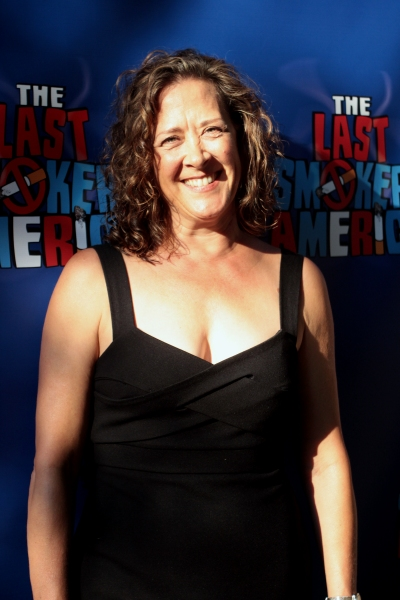 Karen Ziemba at THE LAST SMOKER IN AMERICA Opening- Arrivals and Curtain Call!