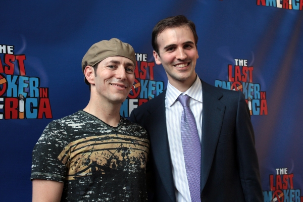 Photo Coverage: THE LAST SMOKER IN AMERICA Opening- Arrivals and Curtain Call!