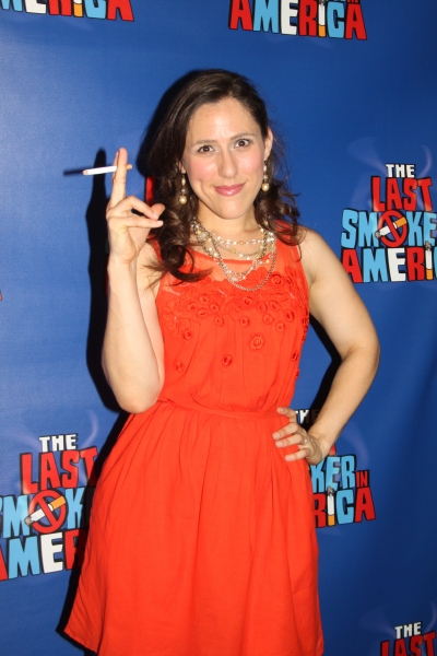 Farah Alvin at THE LAST SMOKER IN AMERICA- Opening Night After Party!