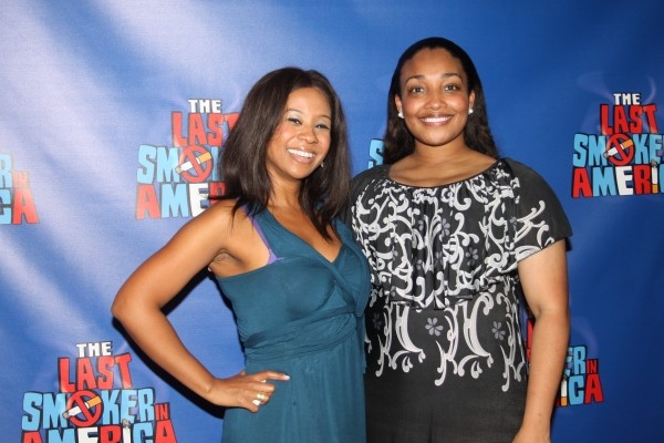 Photo Coverage: THE LAST SMOKER IN AMERICA- Opening Night After Party!