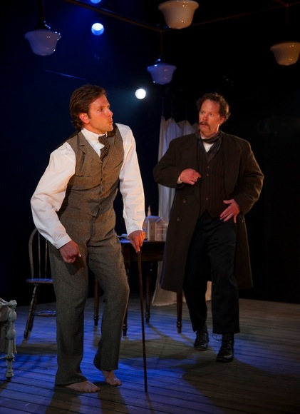 Bradley Cooper and Shuler Hensley at Bradley Cooper, Patricia Clarkson and More in THE ELEPHANT MAN at Williamstown Theatre Festival