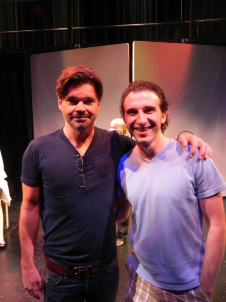 Photo Flash: Hunter Foster Visits URINETOWN Workshop at STAGES St. Louis' Performing Arts Academy