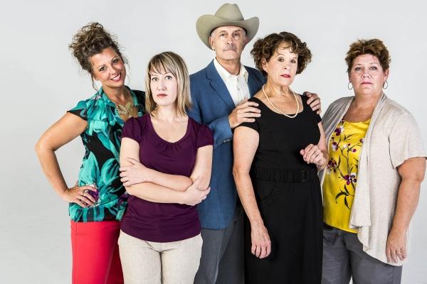Rob Baker as Steve Heidebrecht, Laura Leininger as Karen Weston, Bill Hutson as Bever Photo