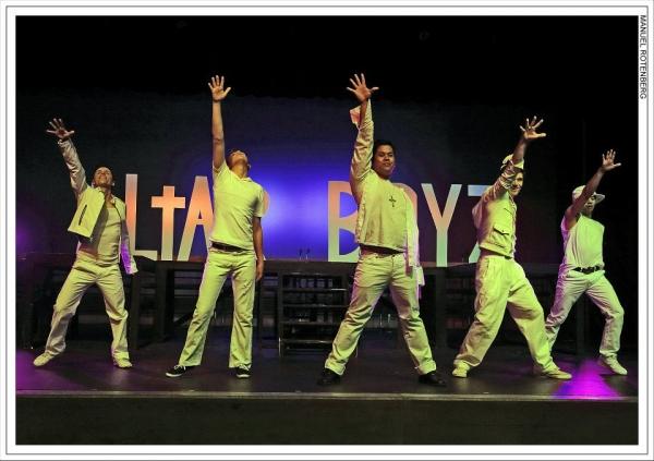 Altar Boyz San Diego 2012: Hanz Enyeart, Hunter Schwarz, Patrick Mayuyu, Nicholas Sloan, Shaun Tuazon
