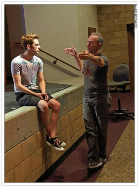Director Noah Longton and choreographer Michael Mizerany discuss spacing of the Boyz.