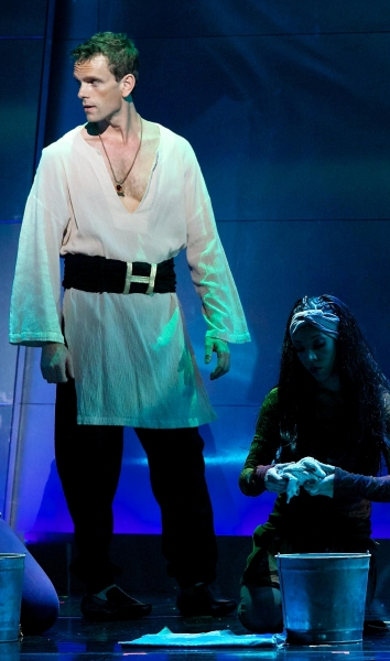 Paul Nolan at Zakiya Young and Paul Nolan Star in KC Starlight Theatre's AIDA, Opening Tonight, 8/3