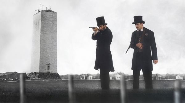 Photo Flash: First Look at SAVING LINCOLN, Starring Tom Amandes