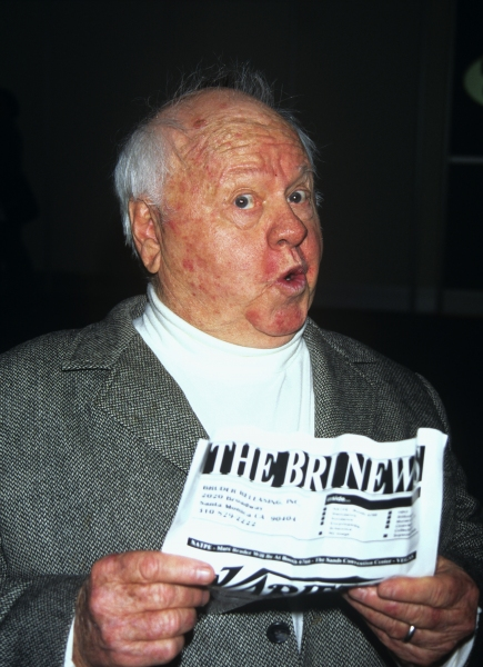 Mickey Rooney at The Sands Expo in Las Vegas in January of 1996.  at Photo Blast From The Past: Mickey Rooney