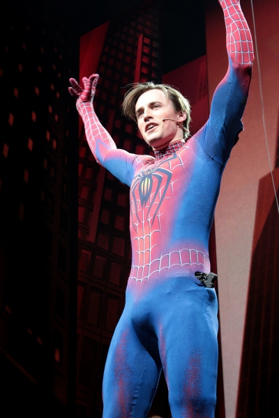 Photo Coverage: Patrick Page Says Goodbye to SPIDER-MAN- Final Curtain Call!