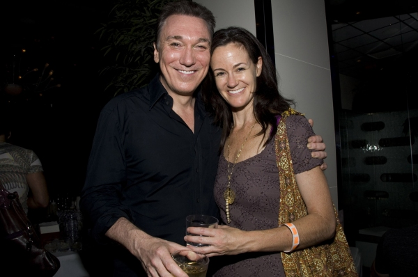 Patrick Page, Kimberly Grigsby at SPIDER-MAN Cast Says Goodbye to Patrick Page!