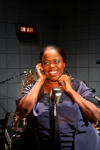 Lillias White as legendary blues singer Maybelle Smith at Lillias White Stars in Bay Street's BIG MAYBELLE: SOUL OF THE BLUES