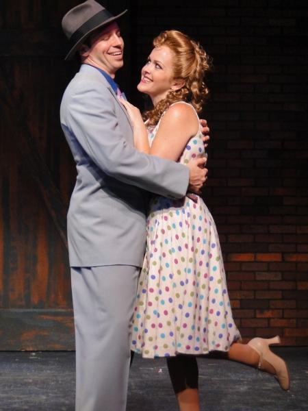 Matt Loehr and Andrea Chamberlain