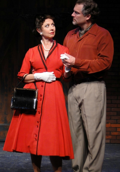 Susan Powell and Stephen Buntrock at First Look at Cape Playhouse's KISS ME, KATE