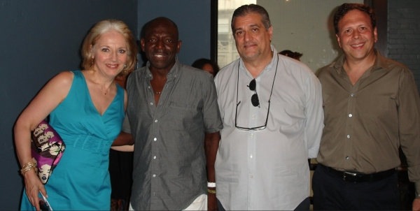 Cynthia, Hinton, Joseph and David Garfinkle (Hello Entertainment producer of Spider-Man and Ghost the musical)