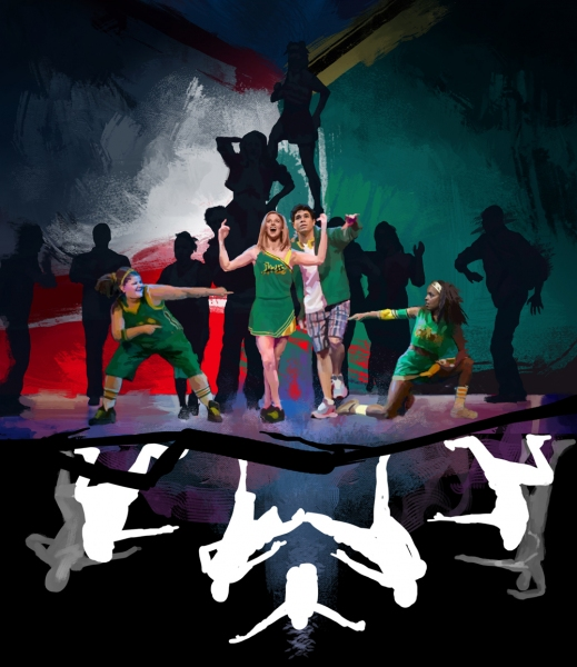 BWW Exclusive STAGE ART - BRING IT ON on Broadway!