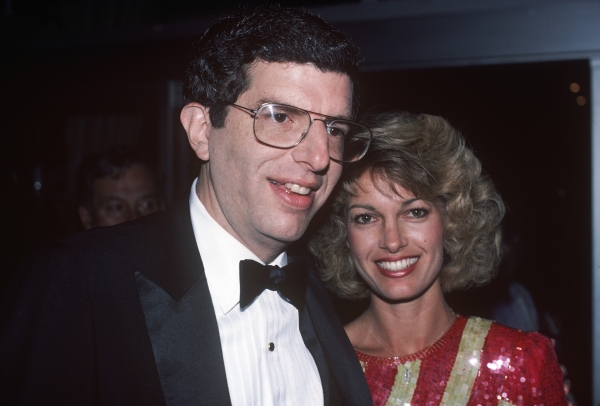 Marvin Hamlisch and Cindy Garvey in 1984 in New York City.