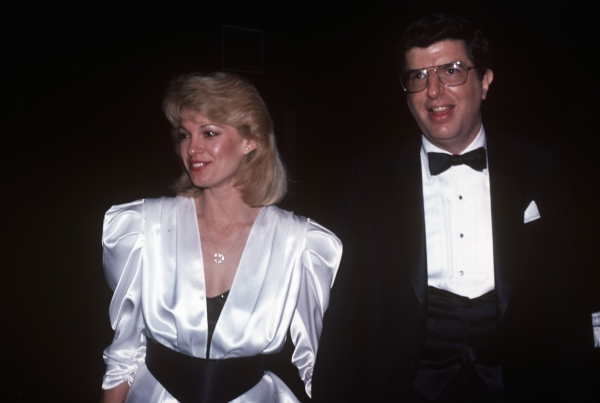Marvin Hamlisch and Cindy Garvey in 1983 in New York City.
