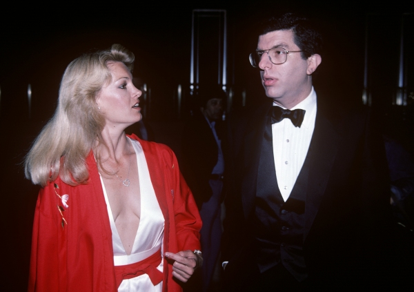 Marvin Hamlisch and Cindy Garvey in 1981 in New York City.